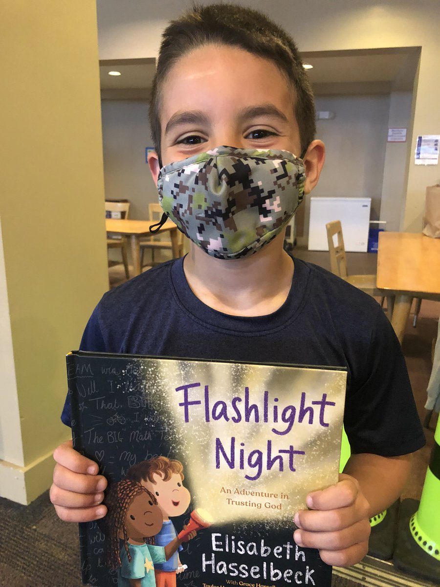 Check out this week's One Book, One School selection - Flashlight Night by Elisabeth Hasselbeck. https://t.co/C1w5TaJcwj