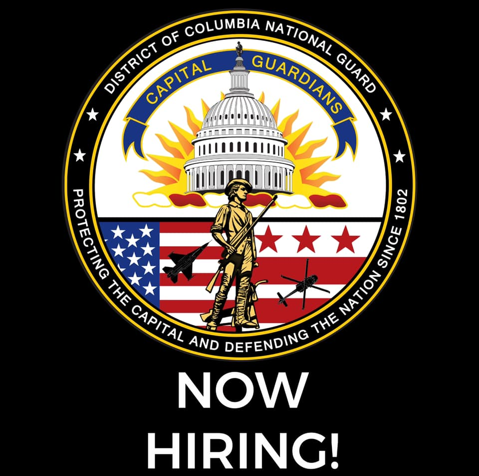 D.C. National Guard is looking for a State PAO to lead the Public Affairs efforts for an exciting and busy organization.  National Guard Membership is required. Minimum Rank: O-4/Maj Maximum Rank: O-5/Lt Col MOS Compatibility : ARMY: 46A, 46X AIR: 35P4 https://t.co/ya2CsiMWOr https://t.co/fL733NUPVz