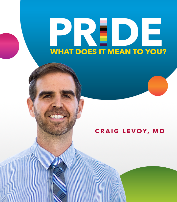 Happy #PrideMonth! We asked some of our LGBTQIA+ team members what this special occasion means to them. Read on to learn what Dr. Craig Levoy, managing director, Bayfront Health St. Petersburg Medical Group, had to share. https://t.co/R4lGhwzo43