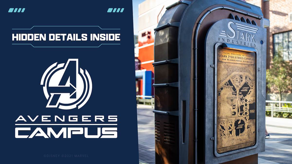 Check out some hidden details you can find around #AvengersCampus: https://t.co/wzxAyS2LvL https://t.co/0UYeRiNQpk