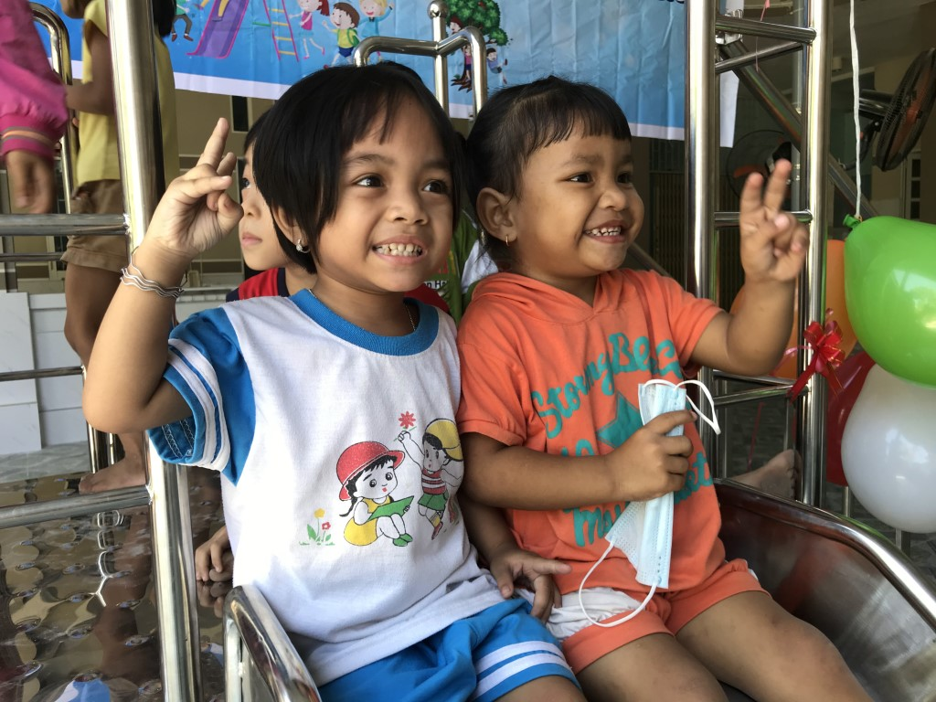 We built a new playground slide at the Hy Vong Home for Disabled Children! https://t.co/YDu0T7fjOz #charity #disabled #children #playgroundequipment #smiles https://t.co/4kJlMjik5S