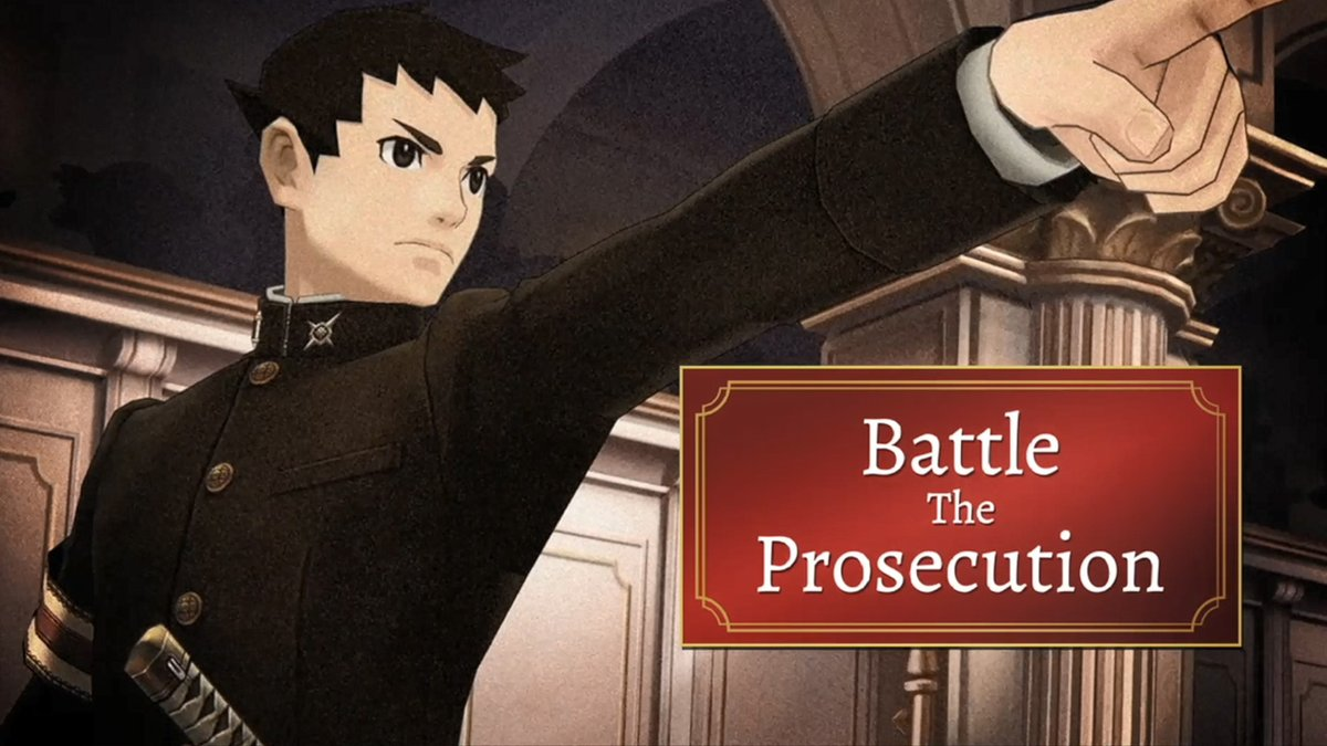 """""""I will become a lawyer. I have to.""""  Debuted at #E32021, our latest trailer for #TheGreatAceAttorney Chronicles sees fledgling defense attorney Ryunosuke and legal assistant Susato cross paths with London's ace detective before making their case in court! 🔎🗯️ https://t.co/ZT1YSfjt0B"""