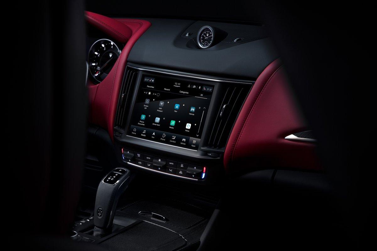 The interior of a Levante is unmatched.  #TheArtOfFast #Maserati #MaseratiofWashington #MaseratiUSA #MyMaserati #DreamCar #SuperCar #ItalianCar #Luxury #ItalianLuxury #CarsOfInstagram #InstaCar #Auto #Automotive #Lifestyle #Power #Passion #UniqueByDesign https://t.co/QqLI4ptpBE