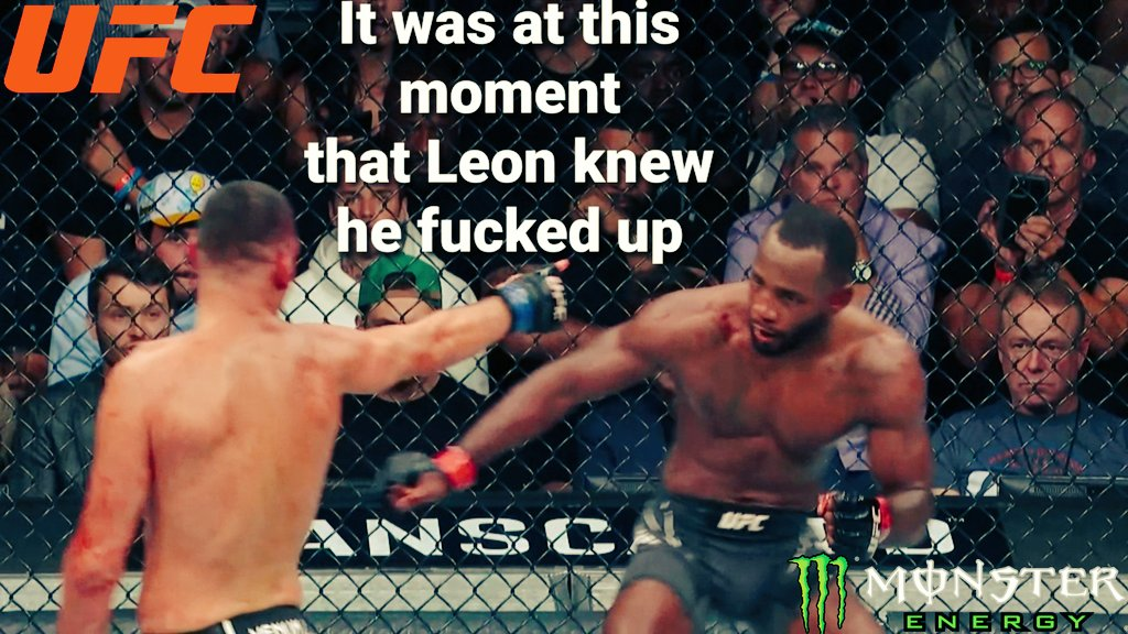 It was at this moment that @Leon_edwardsmma knew, that he fucked up  Great fight #LeonEdwards VS #NateDiaz #RESPECT  #UFC #MonsterEnergy #Venum #UFC263 @ufc @danawhite @NateDiaz209 @MonsterEnergy @venum @BenAffleck @markwahlberg @LeoDiCaprio @nickdiaz209 @AliAbdelaziz00 https://t.co/3W7TCCcYFD
