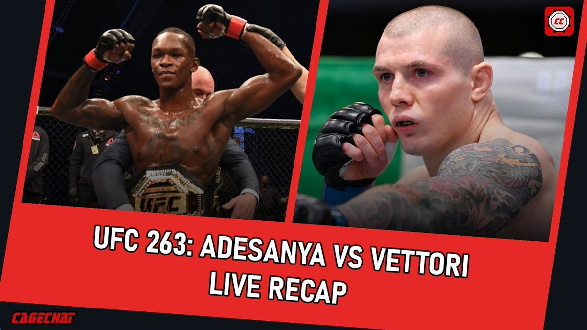 Check out our #UFC263 recap below!   Watch Here: https://t.co/hctlGP2jU7 https://t.co/lgDQZey57k
