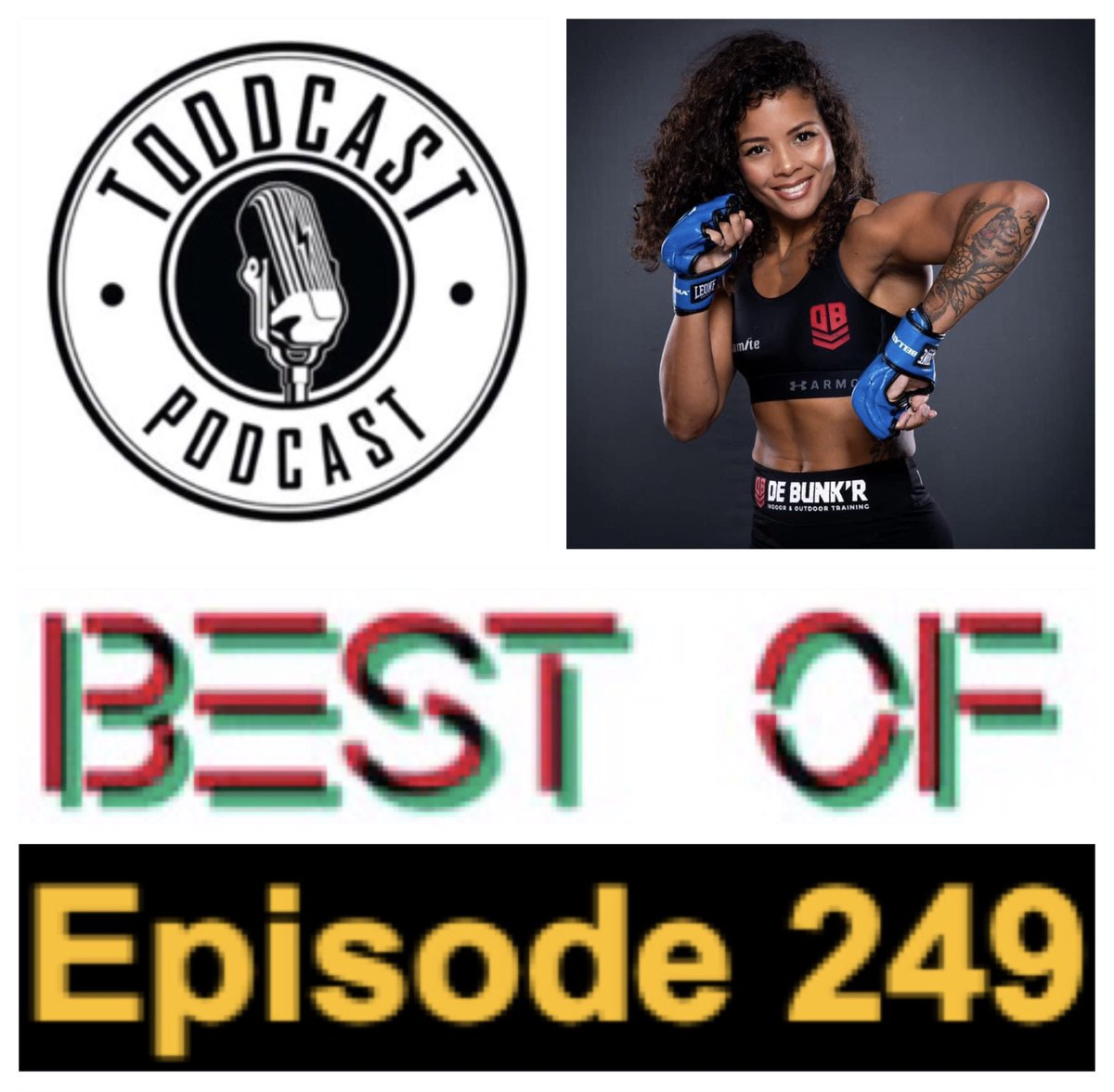 """#Podcast 249 is a 51 minute """"Best Of""""!   Hear nine guests share stories inc.#BellatorMMA fighter Denise Kielholtzon going from #KickBoxing to #MMA!  https://t.co/1yZBfX6739  * Sporting guest visits are powered by@JoyceHeating! Family owned & operated since 1960! https://t.co/p3nix3KQQC"""