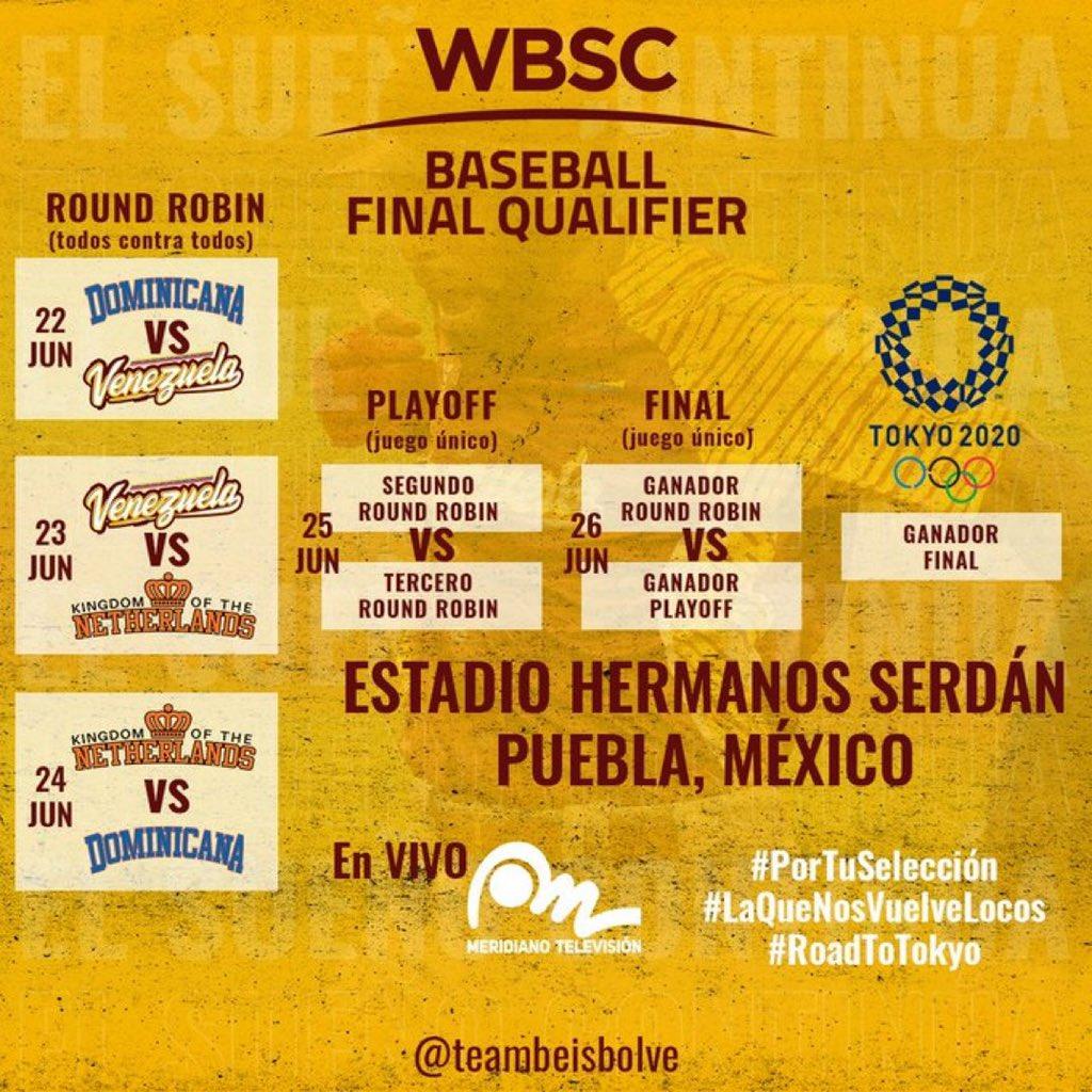 Calendario del Clasificatorio Final. El sueño continúa