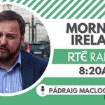 Image for the Tweet beginning: 📺 Sinn Féin Chief Whip