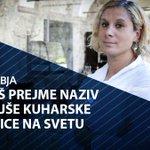 Image for the Tweet beginning: 🇸🇮 #30letdomoljubja  Kobariška kuharska zvezdnica