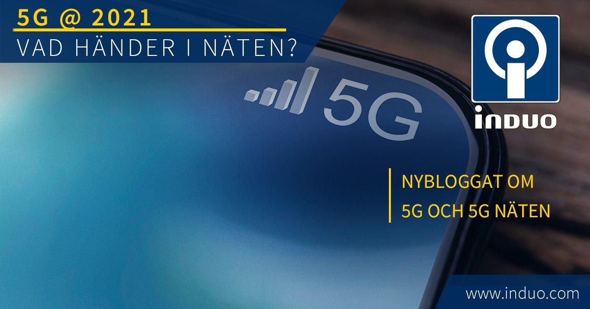 För drygt ett år sedan såg det första kommersiella 5G nätetsitt ljus, nu lyfter vi litet på locket och tar tempen på både 5G, men även 4G, 3G och 2G/GSM.  #induo #mobilnät https://t.co/2euelcIMdX https://t.co/7ZjUhP8t2J