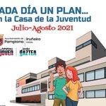 Image for the Tweet beginning: Vuelve el verano a Pamplona,