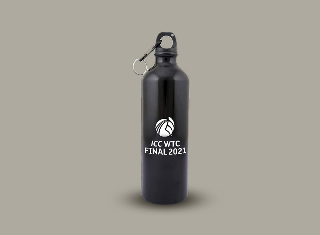 #ContestAlert  Predict Virat Kohli's combined score in both the innings of the #WTCFinal2021. Winner gets this official WTC sipper/bottle.   Rules - 1. You need to FOLLOW me compulsorily  2. Tag 3 friends and RT this tweet  Contest ends Friday 2 pm. https://t.co/EfNjbhdHl8