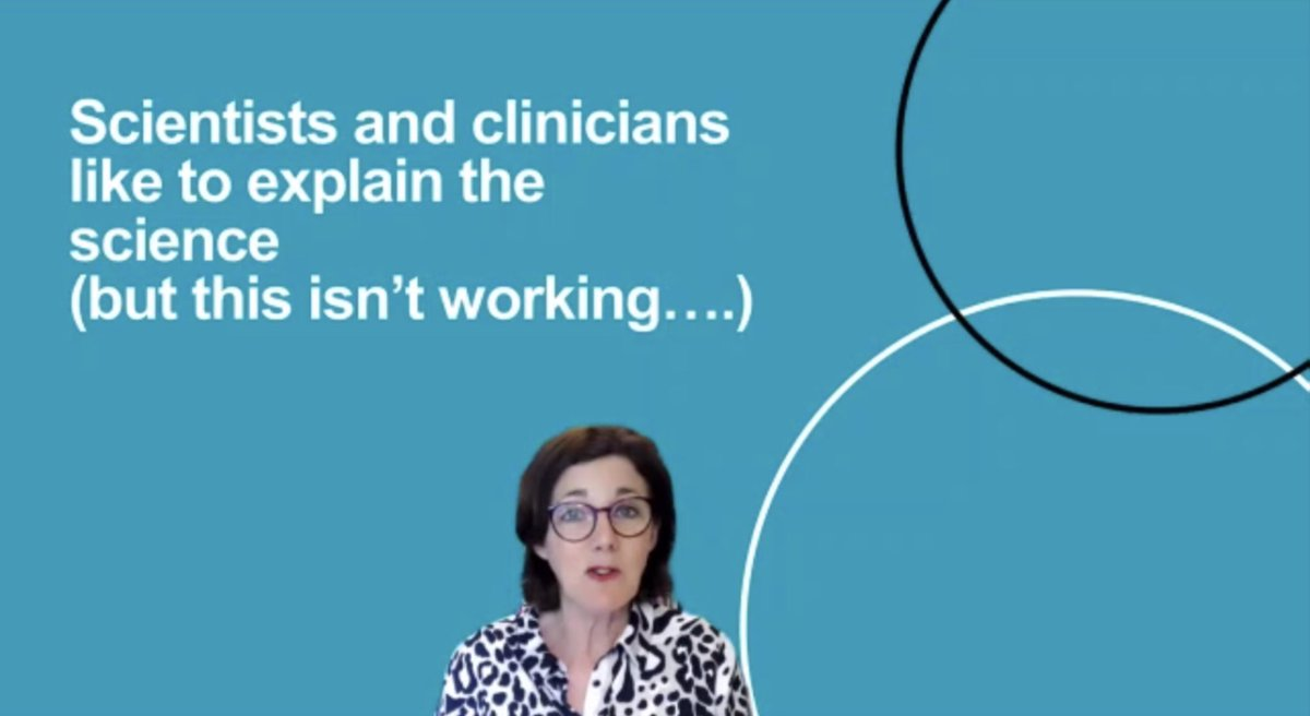 test Twitter Media - @vivienneparry, Head of Public Engagement, @GenomicsEngland discusses what is working in scaling up and joining up the narrative in genomics to boost trust and communication in the field.  @Policy_Projects webinar https://t.co/iwYRq6tAdX