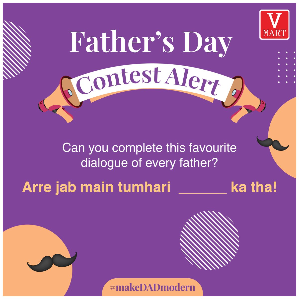 We're sure you can complete these dialogues you've heard all your life! . To Participate, follow these steps and you might win a voucher worth Rs 500.  1) Comment the right answer and other favourite dialogues of your father.  2) Follow us on Twitter 3) Like and Share this post https://t.co/pYejYG2N2V