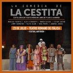 'La Comedia de la Cestita' llega a Sevilla el próximo 23 de julio dentro de la programación del #FestivalAnfitrión. Disfruta de esta comedia musical de la mano de Plauto en el Teatro Romano de Itálica.  🎫Entradas: https://t.co/WzpHKKJQ8f  ⏰ 23 de julio - 22:30h.