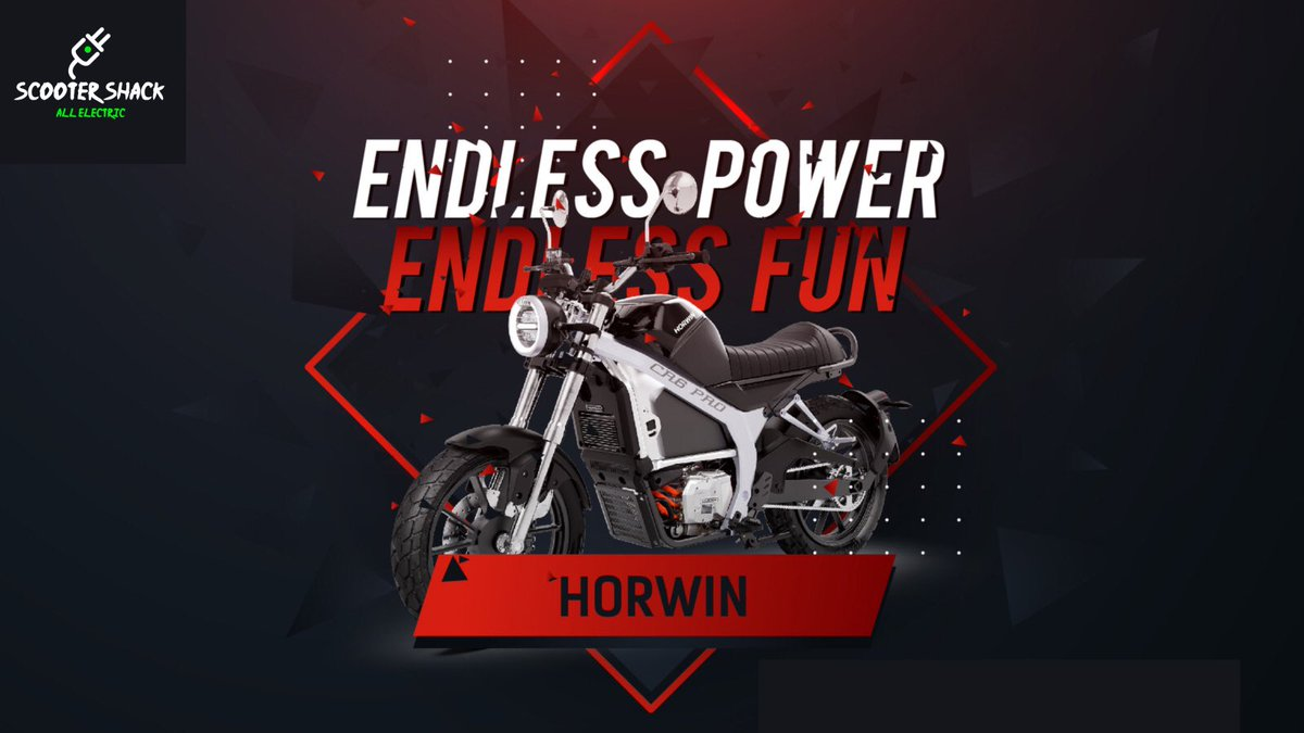 Electrify your ride with with a Horwin CR6. Available now at:  https://t.co/OXemLn1azG  #horwin #electricmotorcycle https://t.co/xQ5VQALrhZ