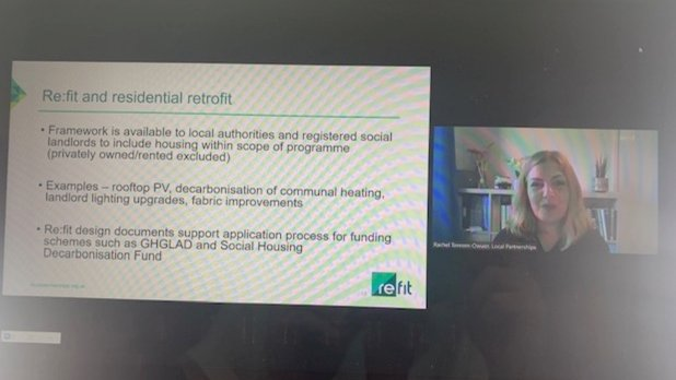 """Great to join @LGAcomms @designcouncil for """"Design in the public sector: innovative approaches to low energy housing""""   Rachel Toresen-Owuor talks the domestic retrofit handbook, refit and the benefits for social housing  Find out more: https://t.co/6TG2sOpXqt"""