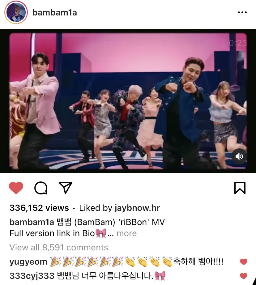 RT @jaebambum: Youngjae: Bambam-nim, you are really gorgeous 🎀  @GOTYJ_Ars_Vita @BamBam1A @GOT7Official https://t.co/F5TCgISEV4