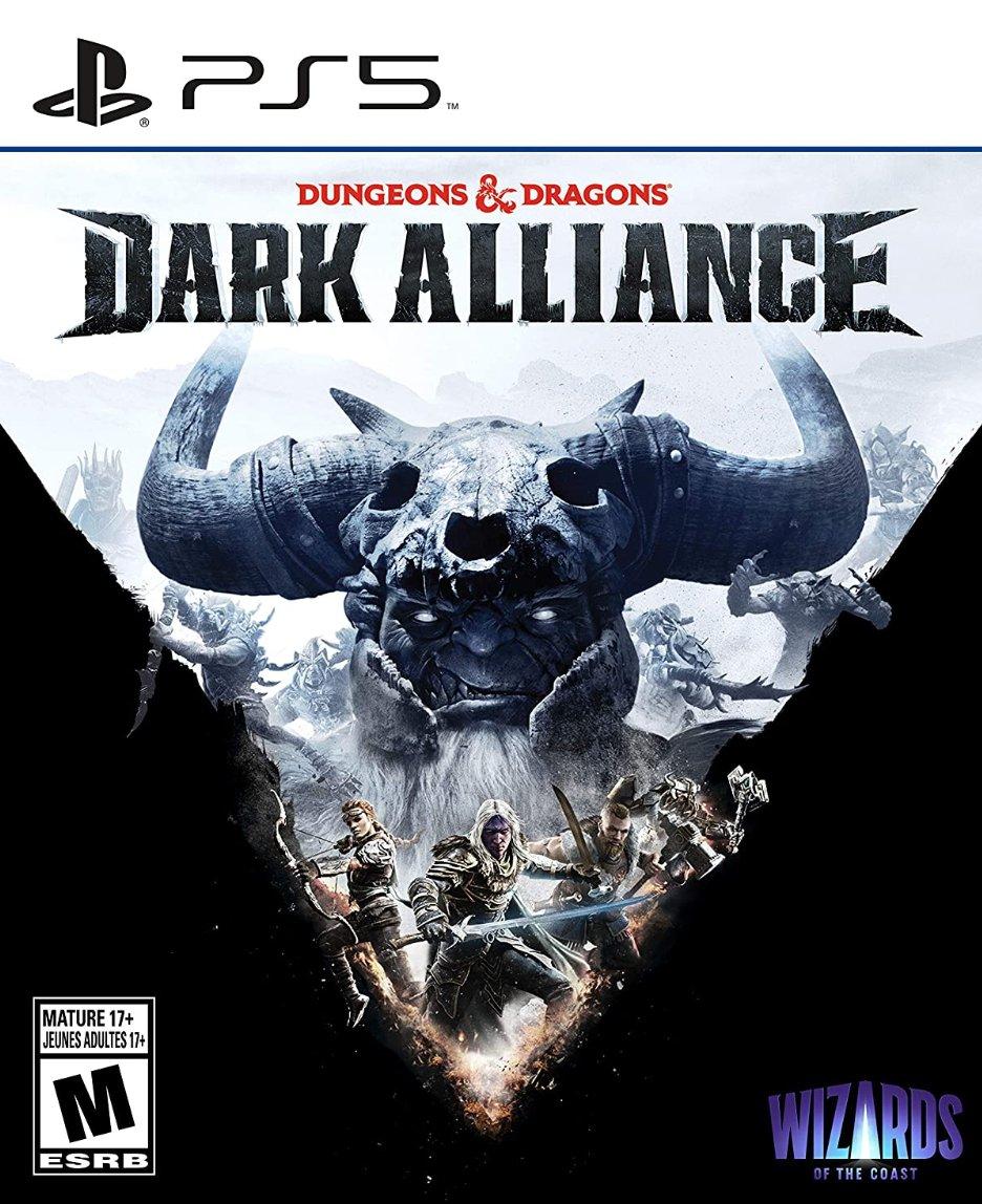 Dungeons & Dragons:  Dark Alliance PS5 $39.99  Amazon
