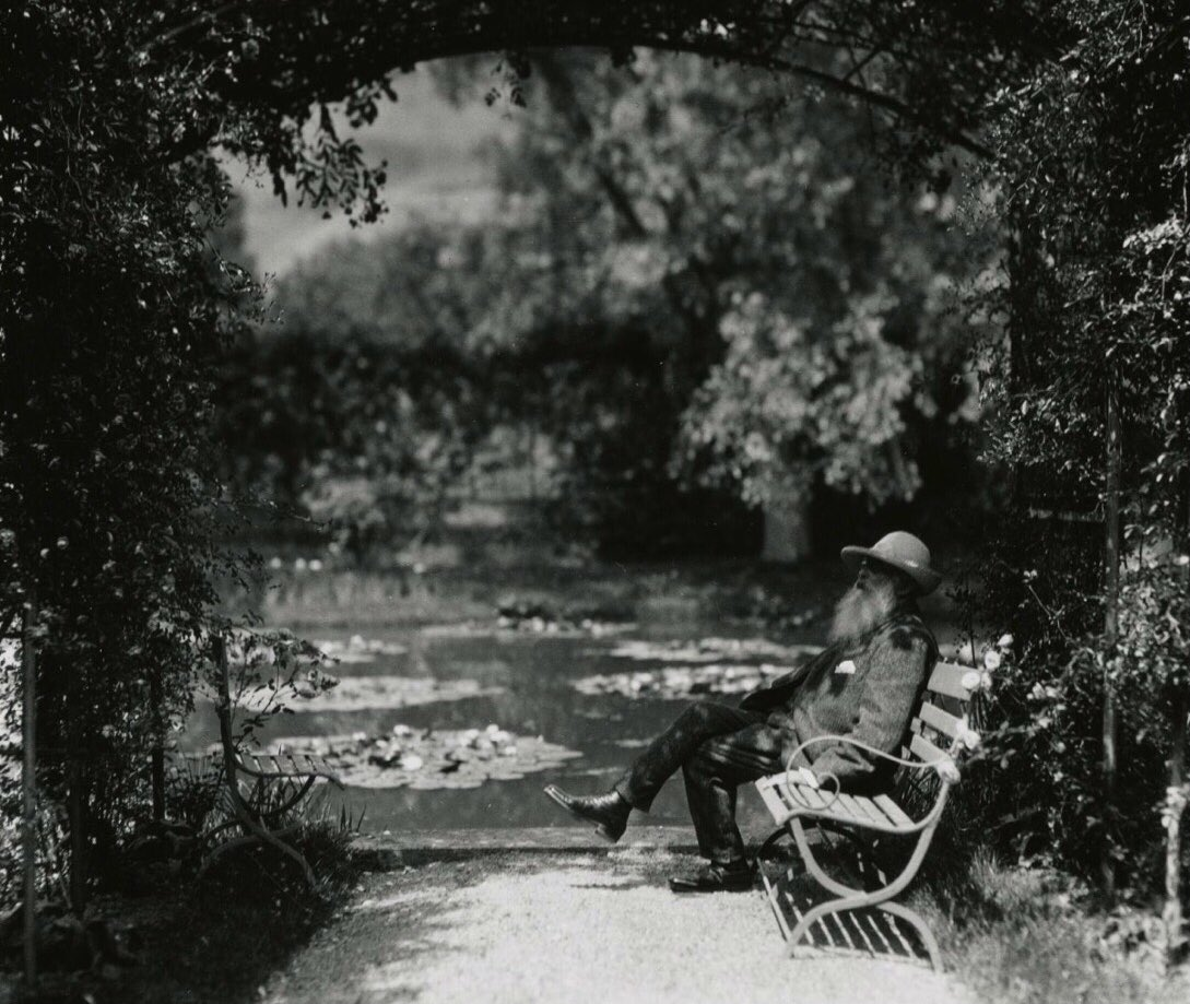 'My wish is to stay always like this, living quietly in a corner of nature.'   Claude Monet https://t.co/OiFUDBPfOE