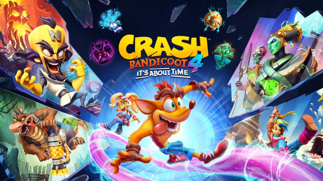 Crash Bandicoot 4: It's About Time (S) $29.99 via eShop.