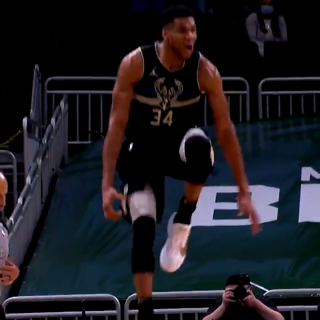 From a skinny kid in Athens to a 2x #KiaMVP Greek Freak.. we showcase Giannis Antetokounmpo! #ThatsGame   @Giannis_An34 and the @Bucks (2-2) take on Brooklyn in a pivotal Game 5 tonight at 8:30pm/et on TNT. #NBAPlayoffs https://t.co/m4xlWZkGww