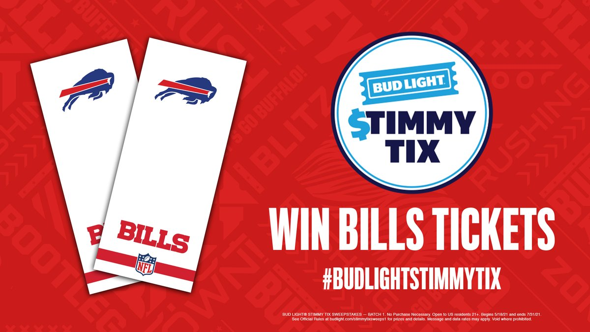 @BuffaloBills's photo on #BudLightStimmyTix