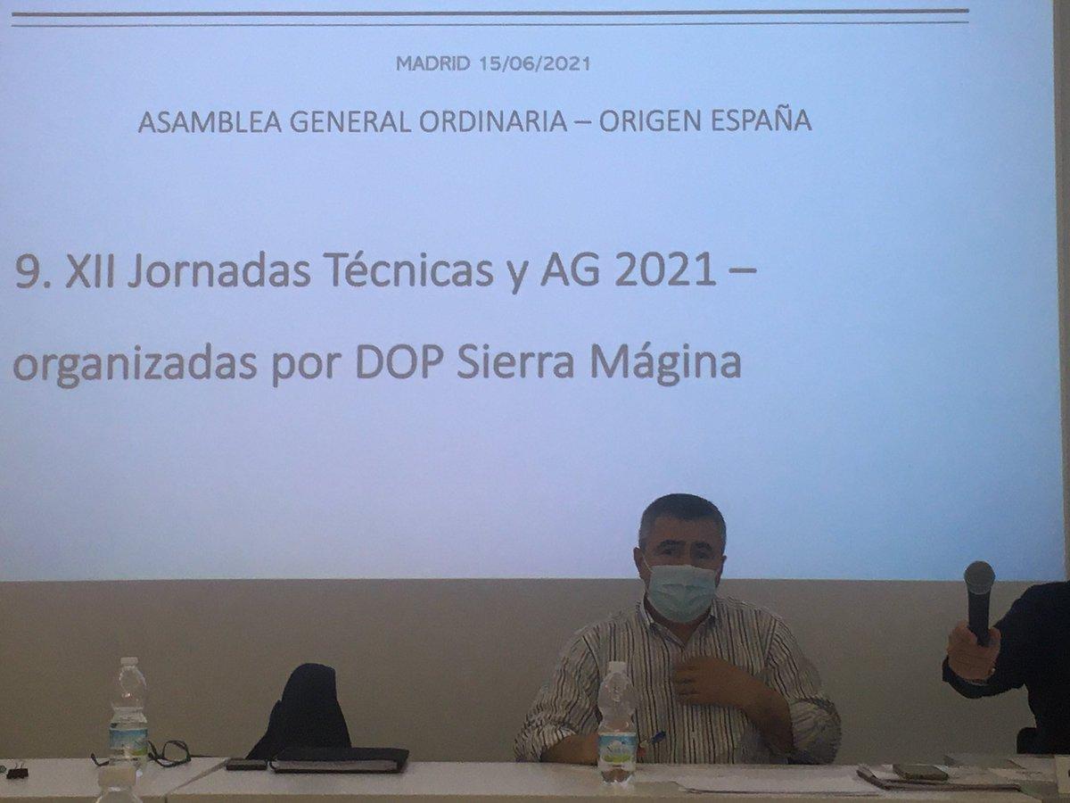 test Twitter Media - Un orgullo ser anfitriones de las próximas 1️⃣1️⃣ Jornadas y Asamblea de @OrigenEspana y recibir en nuestra tierra a l@s compañer@s de las #dop e #igp de nuestro país  #SierraMagina #Jaén #aove https://t.co/RgsmaqY5ej