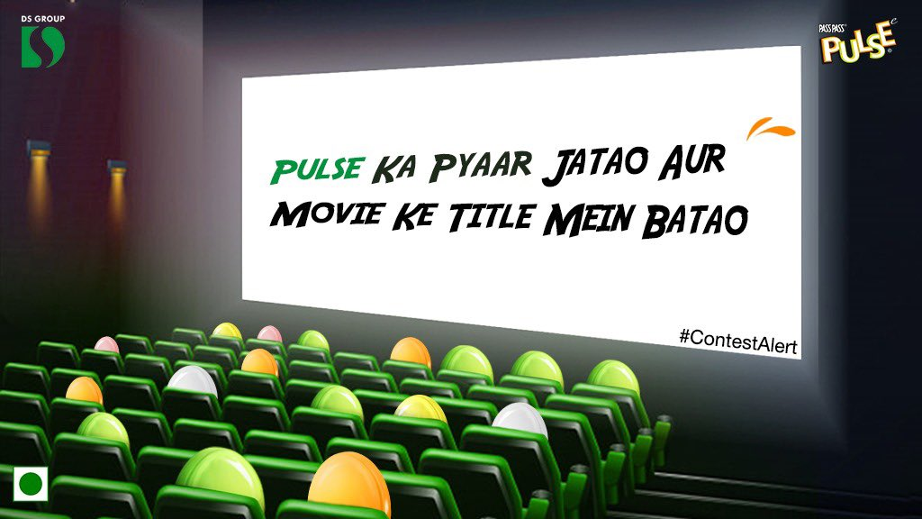 #ContestAlert  Kaunsi movie ka title aapke Pulse ke pyaar ko sabse achhe se dikhaata hai? Tell us in the comments section & the most masaledaar answers will be gratified with Pulse candies & exciting Online vouchers to celebrate National Candy month T&C's https://t.co/0tYPUoOvsn https://t.co/kUms27dY3A
