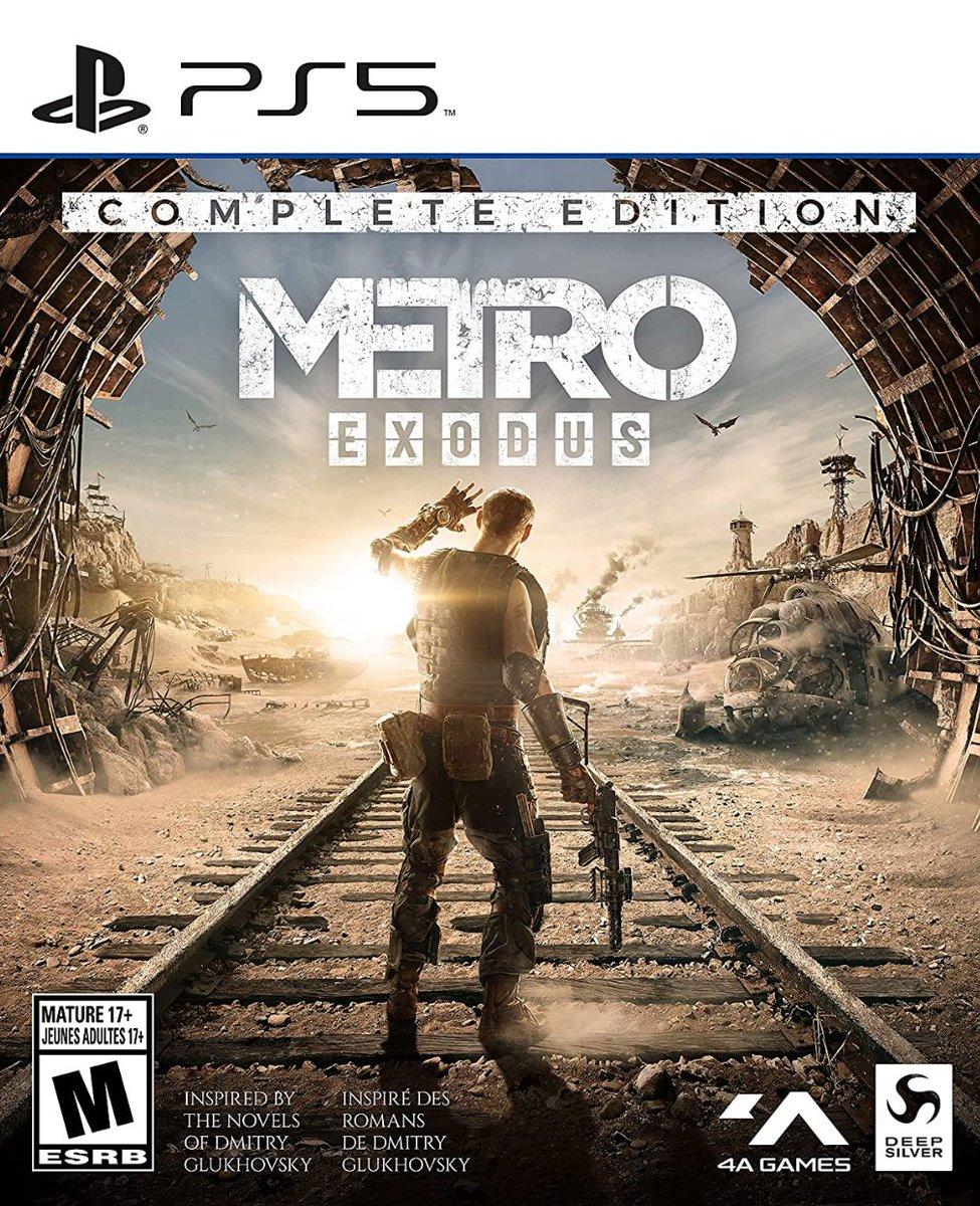 Metro Exodus: Complete Edition PS5 $39.99   Amazon