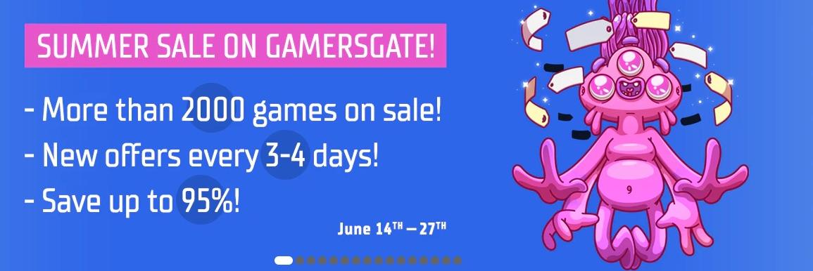 Summer Sale at @GamersGate