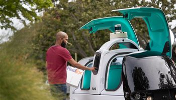 Nuro delivers FedEx packages in driverless vehicles