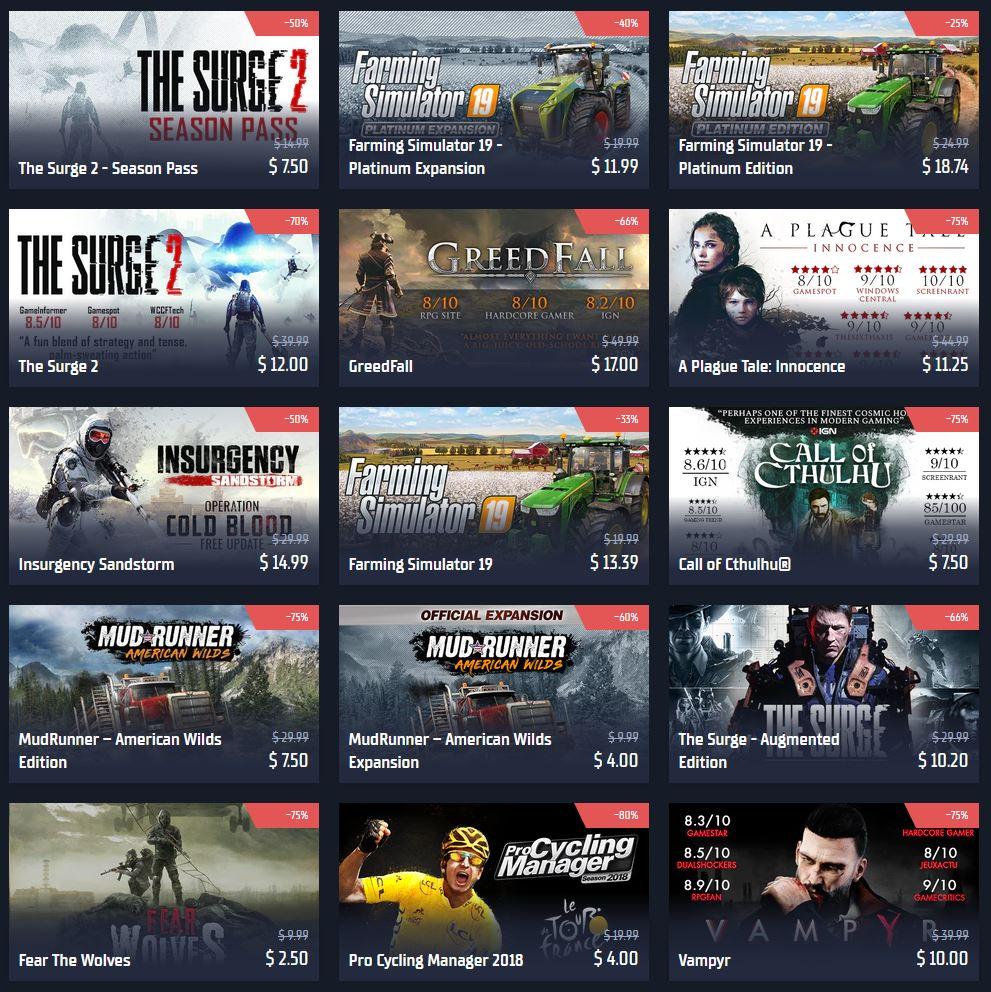 (PCDD) Summer Sale via GamersGate.