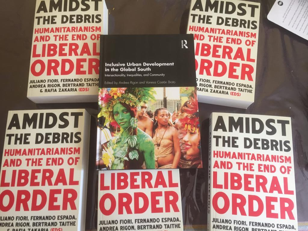 Finally got printed copy of my new books!  Get your discounted copy  Inclusive Development in the Global South 30% off IUDG2021 @routledgebooks #intersectionality  Amidst the debris 25% off DEBRIS25 @HurstPublishers  #liberalorder  Thanks to co-editors, contributors & publishers https://t.co/kTfAABIVhy