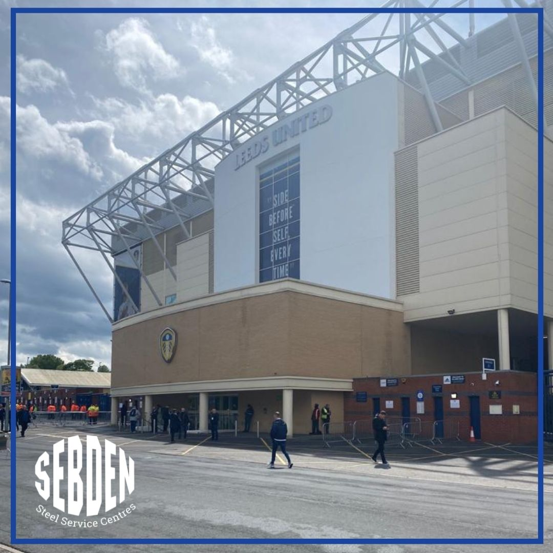Great to be back entertaining customers in our Box at Elland Road after such a long time, great game @LUFC! ⚽  #SebdenSteel #LeedsUnited #Football #EllandRoad #UKSteel #Steel #UKManufacturing https://t.co/mR8tbE0IYM