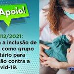 Image for the Tweet beginning: Vacinar é um ato de