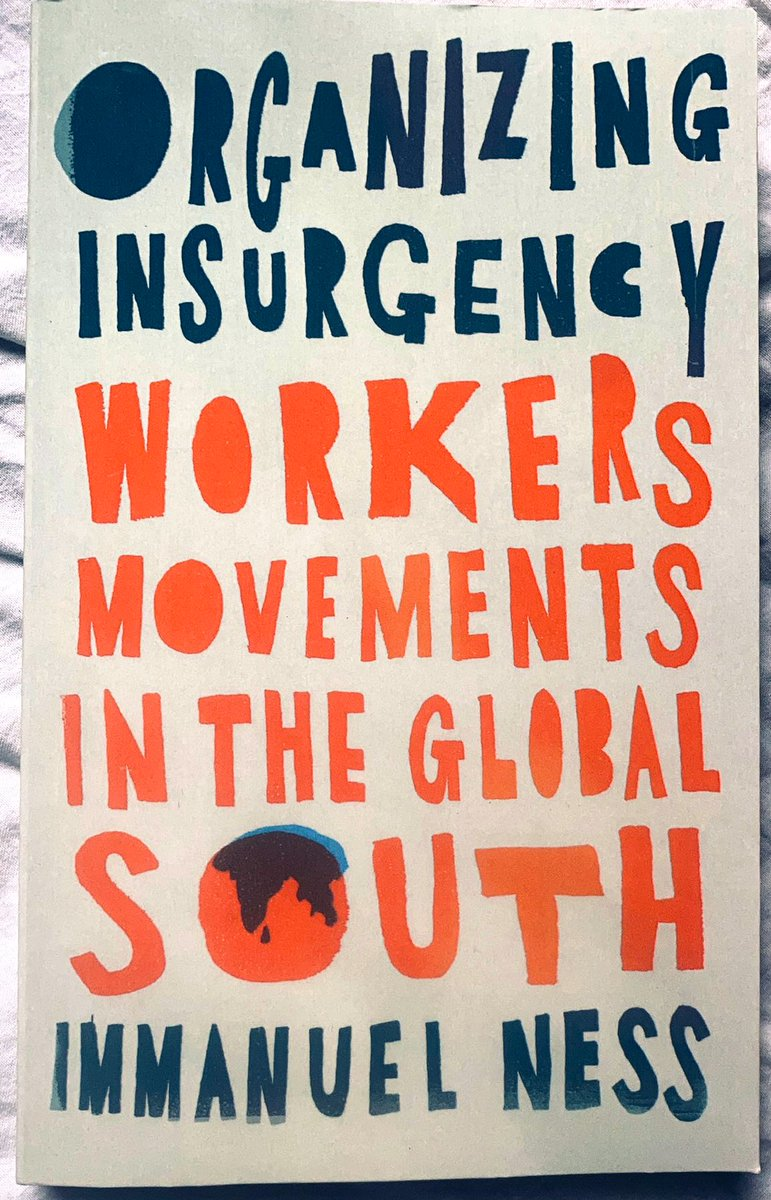 ~Patreon Exclusive~  @Huck1995 does a ~40 minute reading of Organizing Insurgency by Immanuel Ness (via @PlutoPress)  All patrons can listen here 👉 https://t.co/OWsotk5p5H  This book will be the topic of our main July episode, you can get it here 👉 https://t.co/DCPvtZEQ44 https://t.co/VW8AcJcNJ2