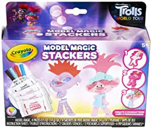 Crayola Trolls World Tour Model Magic Stackers $5.77  at