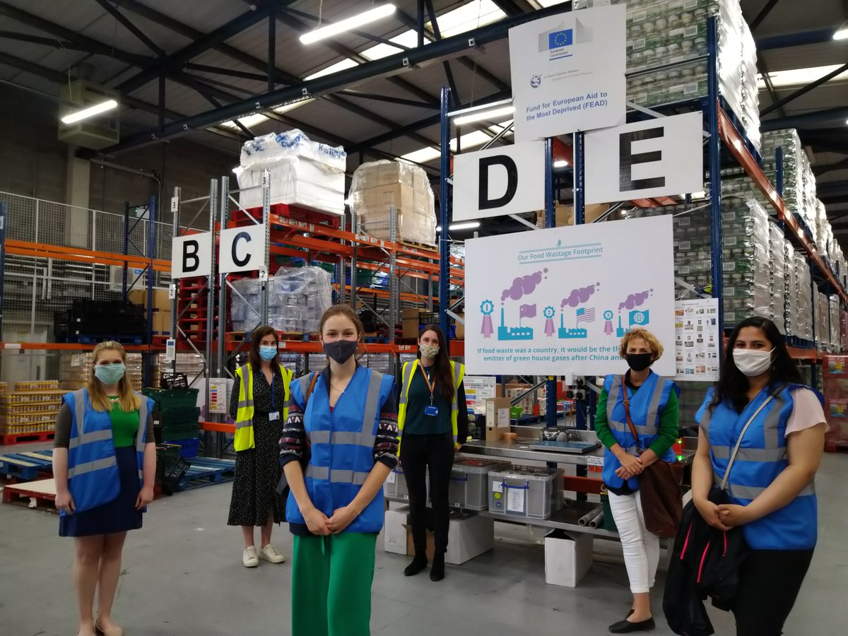 Back face to face! Thrilled to visit @foodcloud to hear about their amazing work on the scourge of food waste..a hugely impressive operation in Tallaght #CircularEconomy #FoodPoverty @ChildRightsIRL @TescoIrl @joefingalgreen @DeptRCD @HHumphreysFG @PhilanthropyIE @goggshealy https://t.co/iotbZYY6El