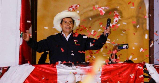 Peru's urban elite panics as a socialist looks set to clinch presidency Photo