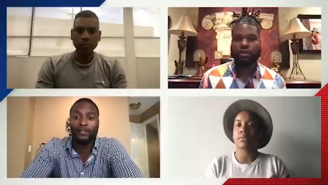 """""""We gotta get these businesses funding.""""  @BrainSTEMU Founder Ricky Mason on the importance of supporting small business owners of color at every stage of the business development cycle.   Louisville Entrepreneurship Roundtable - 4pm/et on @NBA https://t.co/XksPchcOFE"""