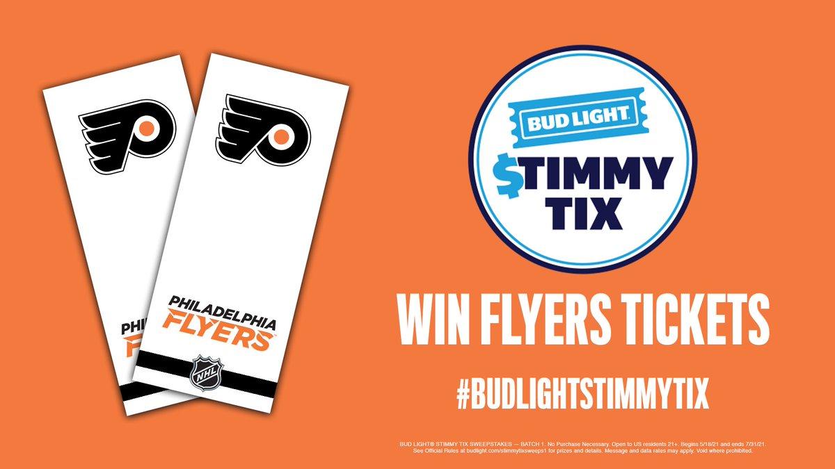 @NHLFlyers's photo on #BudLightStimmyTix