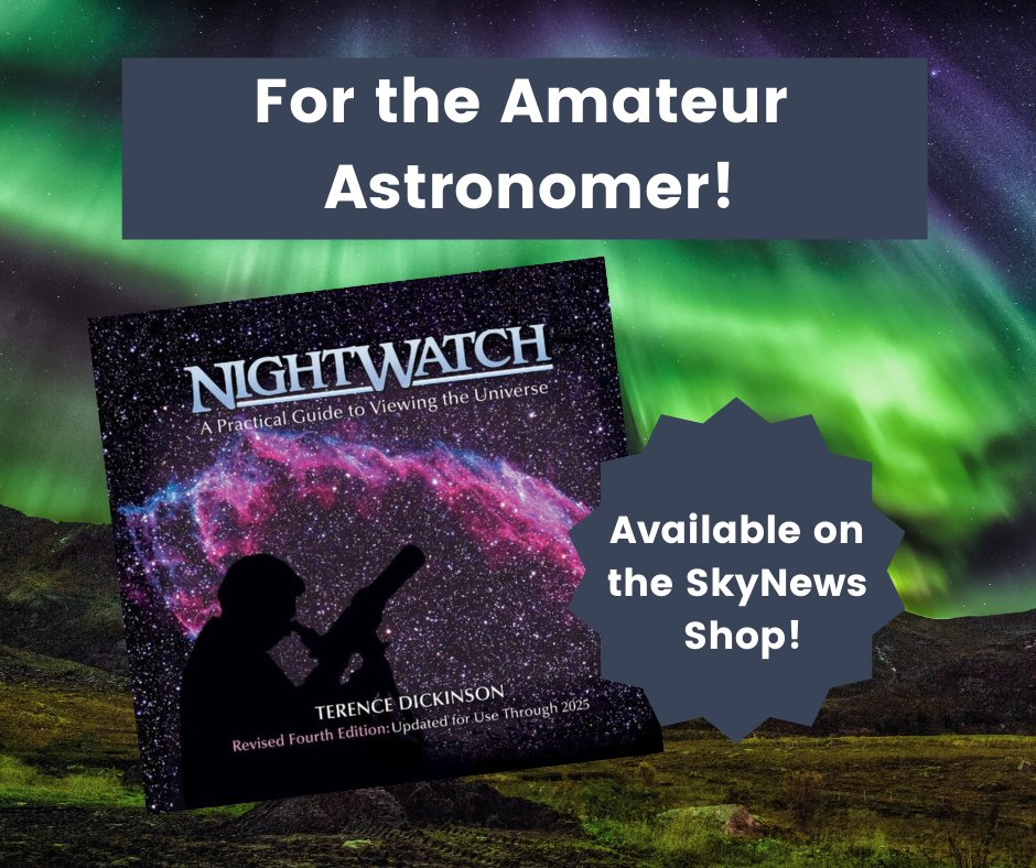For the novice amateur astronomer! Are you interested in picking up #stargazing as a new hobby but don't know where to start? We have just the resource for you available in our shop.  Pick up your copy of #Nightwatch today! https://t.co/ChxkVQy2nb  #stargazing #space #astronomy https://t.co/e9Paba5TpD