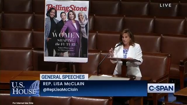 The Democrats' double standards are deafening.   Today, I spoke on the House floor calling for @SpeakerPelosi and her conference to hold @Ilhan accountable for her anti-Semitic, anti-American remarks. https://t.co/pUOYFo3el6