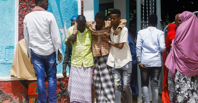 Suicide Blast at Military Training Camp in Somalia Targets New Recruits Photo