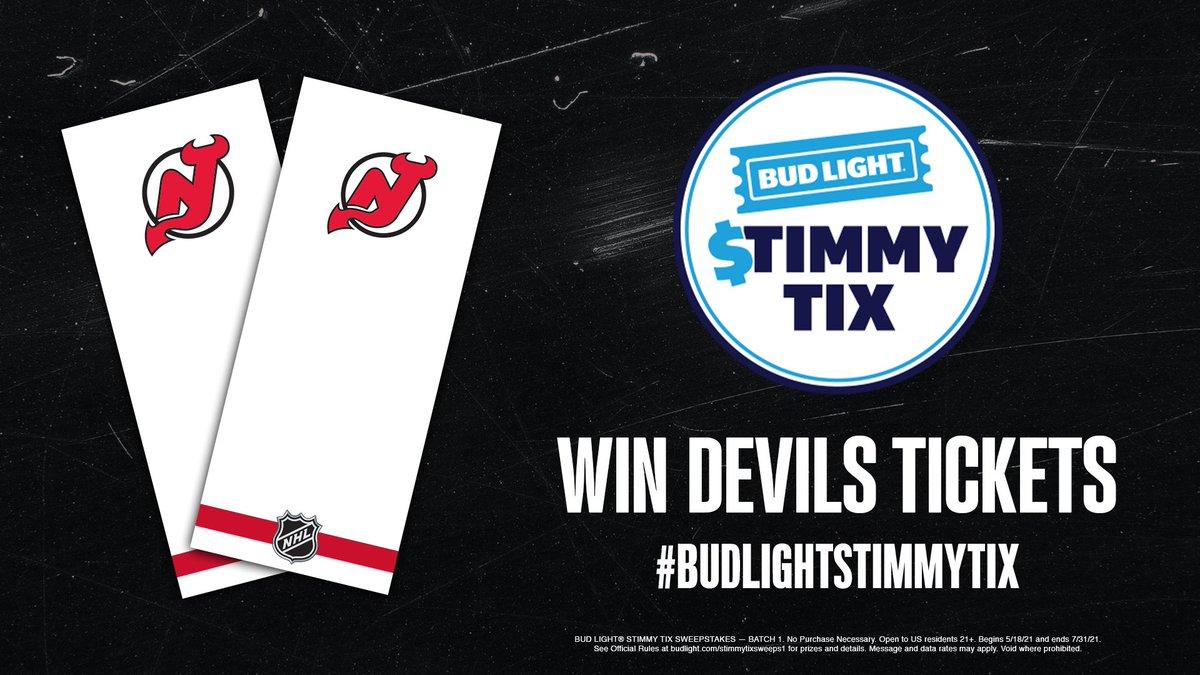 @NJDevils's photo on #BudLightStimmyTix