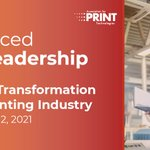 Image for the Tweet beginning: Print leaders...Looking for new horizons? @APT_tech