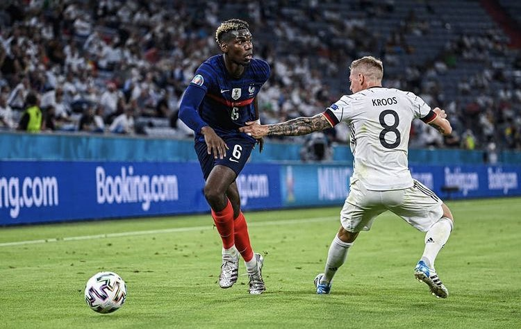 Paul Pogba made 12 ball recoveries vs. Germany, no midfielder has made more in a #EURO2020 game so far.  A joy to watch tonight. 🔥 https://t.co/MiQme3WVUh