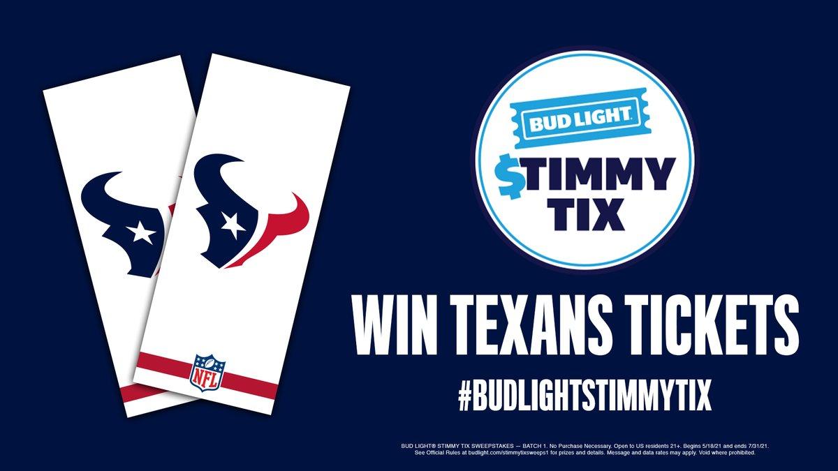 @HoustonTexans's photo on #BudLightStimmyTix