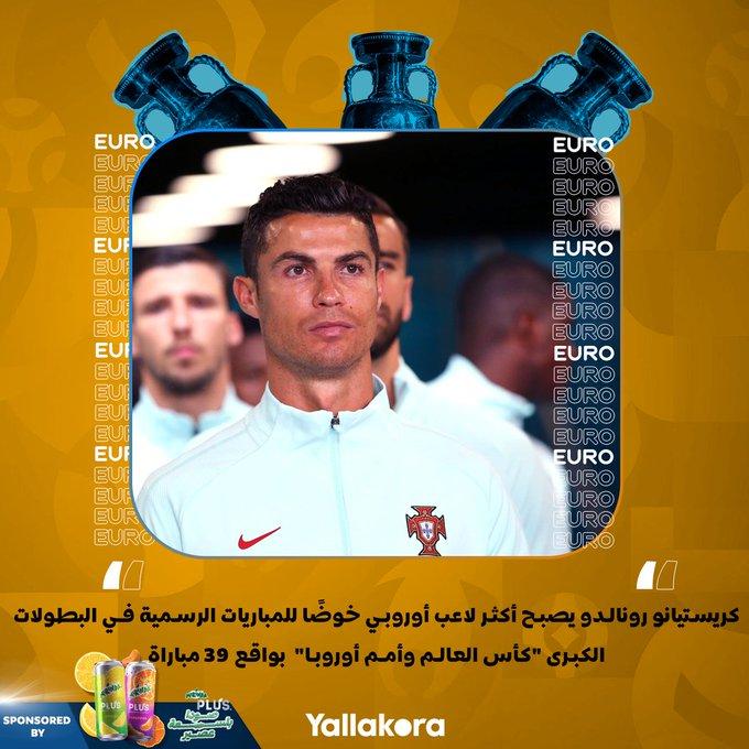 كريستيانو رونالدو يصبح أكثر لاعب أوروبي